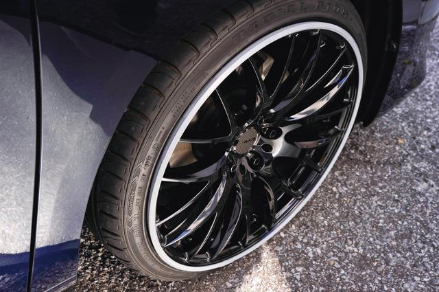 画像: 装着したままで車検を受けることもできる。ただし、これを装着すると6mmほど突出するので注意が必要。