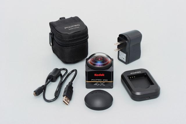 画像: コダック「PIXPRO SP360 4K」  価格:64,260円 問い合わせ:マスプロ電工株式会社 0570-091119 http://www.maspro.co.jp/products/pixpro/