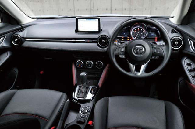 画像2: 【試乗】マツダ CX-3 XD ツーリング 4WDがデビュー1年も経たないうちに改良された