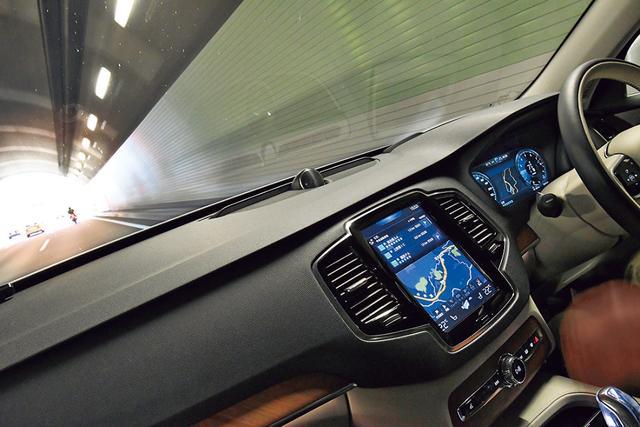 画像2: 【試乗】ボルボ XC90 T8 ツインエンジン AWD インスクリプションの長距離ドライブを堪能