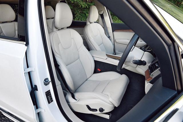 画像5: 【試乗】ボルボ XC90 T8 ツインエンジン AWD インスクリプションの長距離ドライブを堪能