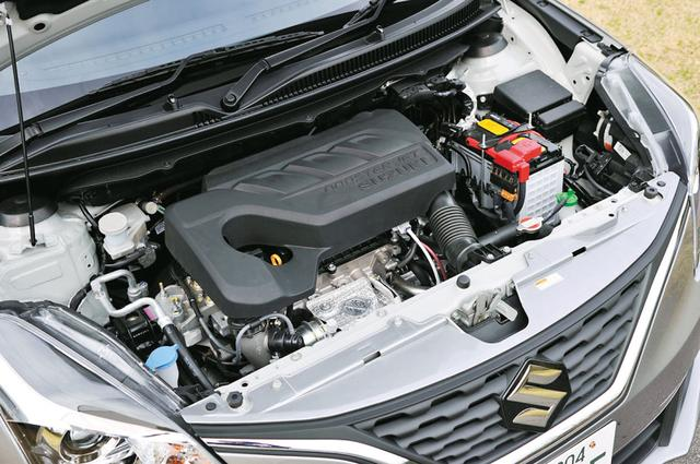 画像: 1Lの3気筒直憤ターボエンジンを搭載する。パワースペック的には1.6Lの自然吸気エンジン相当と言える。