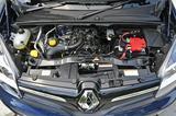 画像: ▲最新型のルノーモデルにはよく搭載されているH5F型1.2ℓ直4DOHC直噴ターボ。カングー ゼンEDCのJC08モード燃費は14.7km/ℓ。