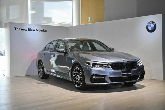 画像: 【ニューモデル】BMW 5シリーズが7年ぶりのフルモデルチェンジ 2017年1月12日