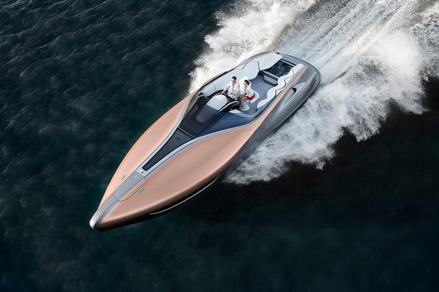 画像2: 【LEXUSのプレジャーボート】「レクサス スポーツヨット コンセプト」を発表 2017年1月13日