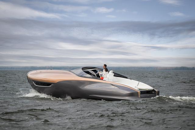 画像4: 【LEXUSのプレジャーボート】「レクサス スポーツヨット コンセプト」を発表 2017年1月13日