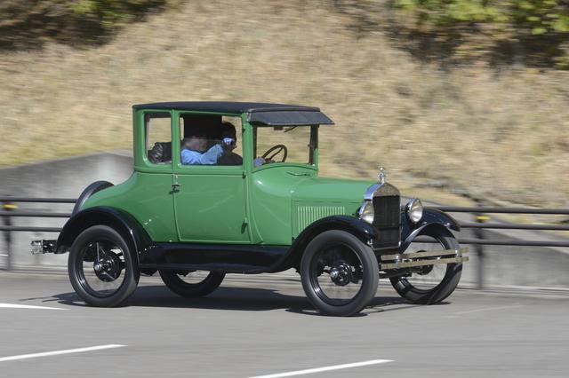 画像: 1927年製クーペは、より運転しやすい