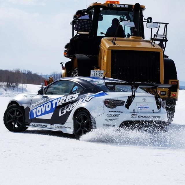 画像: -5℃の氷点下でドリフト!白銀の世界で撮影した動画「SNOW DRIFT」の舞台裏をご紹介します。|イベント&トピックス|ニュース|東洋ゴム工業株式会社