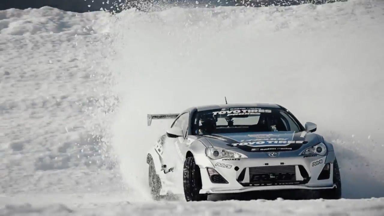 画像: Snow Drift in Saroma   TOYO TIRES www.youtube.com