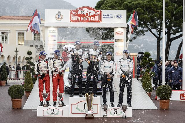 画像3: 【ラリー】トヨタ・ヤリスWRC。第1戦ラリーモンテカルロでWRC復帰戦で表彰台に立つ