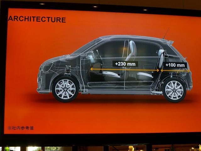 画像: ▲全長が短くなったにもかかわらず、車室内は大幅に広くなった。