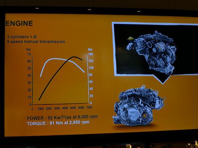 画像: ▲こちらはゼンMTに搭載される1L自然吸気エンジン。