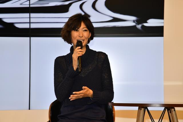 画像: 女性の年齢を公表するのは失礼だが、38歳、一児の母とは思えない田丸さん。