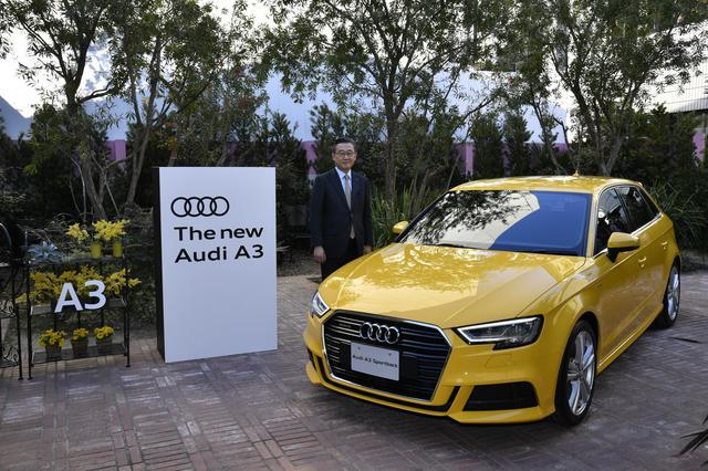 画像: アウディジャパンの斎藤徹社長はこの発表会で今年の販売目標について「3万台を超えたい」と語った。