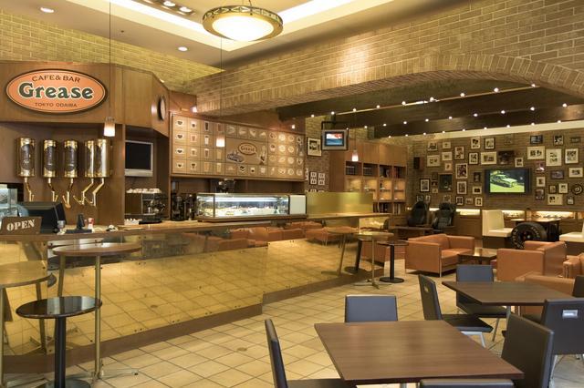画像: ▲2016年12月にリニューアルした『CAFE&BAR Grease』。