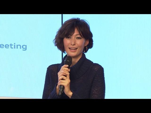 画像: 《アウディ ジャパン2017年新春会見ならびにThe new Audi A3 記者発表会》 女優 田丸 麻紀さんによるトークショー