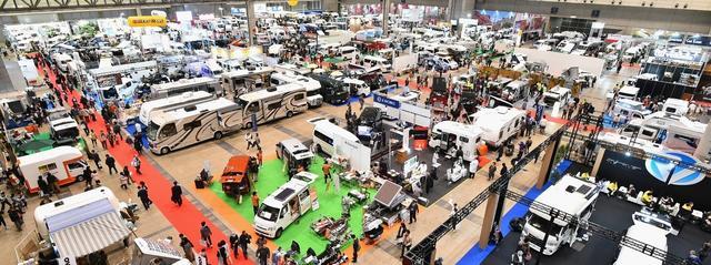 画像: 【イベント情報】 日本最大のキャンピングカー ショーの開催が2日後に迫る! - Webモーターマガジン