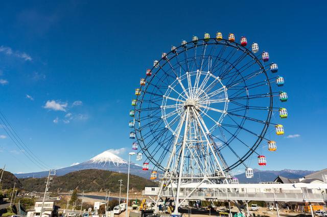 画像: 大観覧車「Fuji Sky View」の所要時間は1周約12分。
