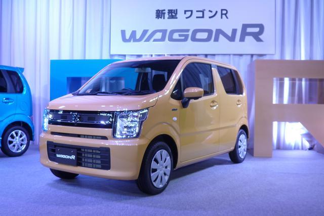 画像: ワゴンR HYBRID FX メーカー希望小売価格:107万8920(FA・2WD)〜129万8160円(HYBRID FX・4WD)