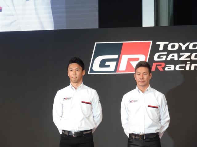 画像: 今年も期待される中嶋一貴選手(左)と小林可夢偉選手(右)。