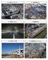 画像: 横浜北線のさまざまな施設。経済効果も高そうだ。