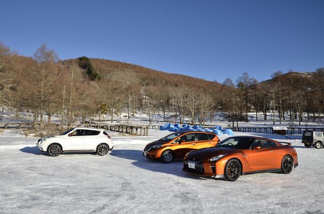 画像: 【試乗】氷と雪の女神湖周辺でノートeパワー をテスト - Webモーターマガジン