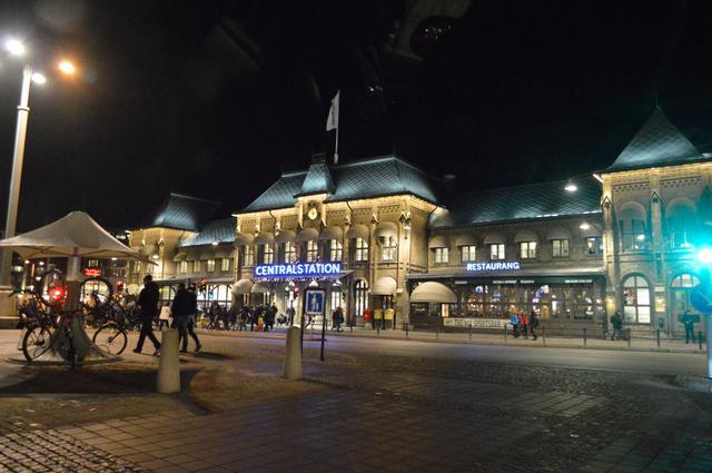 画像: イェーテボリ中央駅の駅舎。