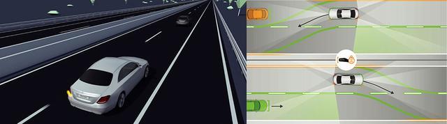 画像: 「アクティブレーンチェンジングアシスト」ステアリングパイロットが作動している時、ウインカーを2秒以上点滅させると安全を確認した上で自動的に車線を変更させる。 www.intelligent-drive.jp
