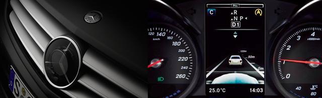 画像: 「ディストロニック・プラス」 中・長距離と短距離の2種類のレーダーが、先行車を認識し車間距離を最適に。 www.intelligent-drive.jp