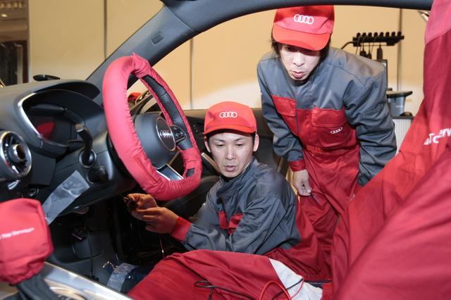 画像1: テクノロジー部門はAudi江戸川、サービス部門はAudi熊本が優勝