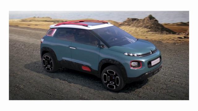 画像: [REVEAL] C-AIRCROSS CONCEPT: CITROEN'S SUV SIGNATURE youtu.be