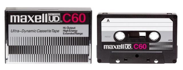 画像: 最近はカセットテープ人気が再燃している。2016年10月に日立マクセルから数量限定発売された、1970年代の流行モデル「UD」の復刻版。