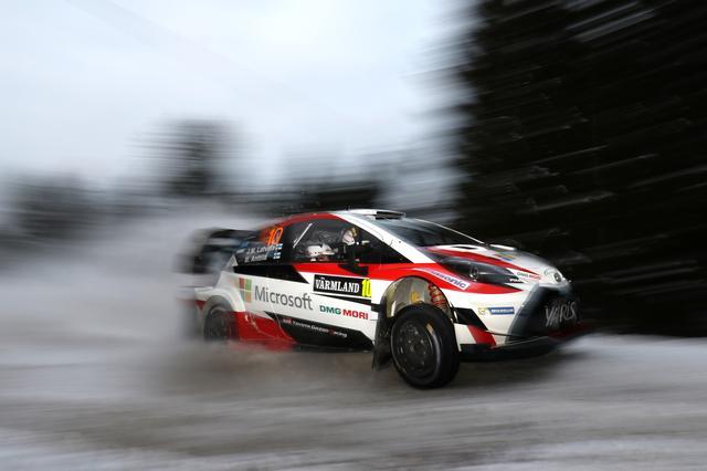 画像: 【ニュース】WRC第2戦のSS1で、ラトバラ選手のヤリスWRCがベストタイムをマーク