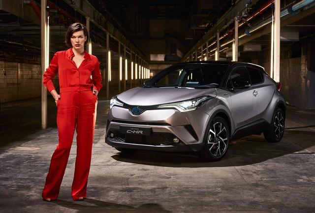 画像: 一夜限りのイベントにハリウッドの人気女優を呼ぶ贅沢。欧州トヨタの力の入り方がわかります。