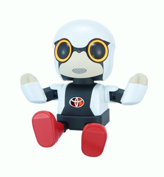 画像: ▲KIROBO mini は2015年の東京モーターショーで発表。
