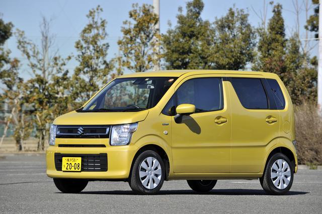 画像1: ワゴンR ハイブリッドFX(2WD)。車両価格117万7200円。
