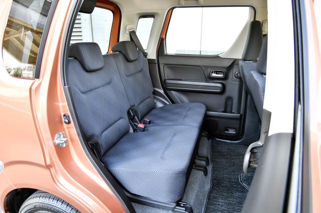 画像: ワゴンR ハイブリッドFZ(車両価格135万円)のリアシート。
