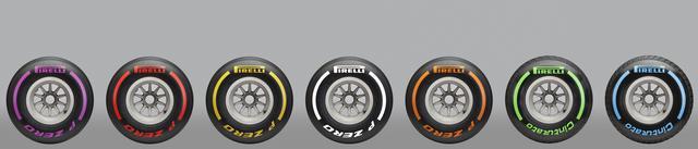 画像1: 【クルマニQ】【マニア編】ピレリのF1タイヤ、『ハード』と呼ばれるタイヤの色は?