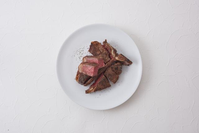画像: 〈メイン肉〉ラステイクス「熟成パーターハウスステーキ」