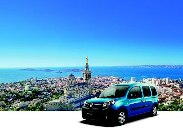 画像1: 【限定車】今年の色は「マルセイユの青い海」ルノー・カングー クルール発売 2017年2月23日