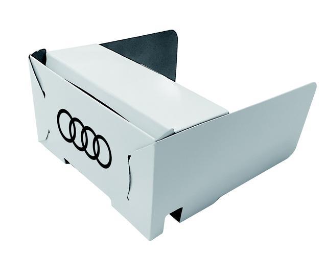 画像: ドイツで開発されたVRヘッドセットを使用する。
