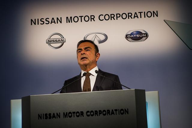 画像: Carlos Ghosn。1999年6月に日産の最高執行責任者に就任。その後2001年6月に社長兼最高経営責任者。2005年5月にはルノーの社長兼最高経営責任者、2016年12月に、三菱自動車の取締役会長に就任。ルノー・日産アライアンスの会長兼最高経営責任者も兼務する。