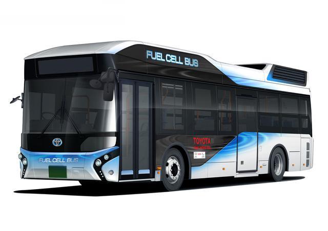 画像: こちらはバス会社の社名などが入っていないベース車の状態。
