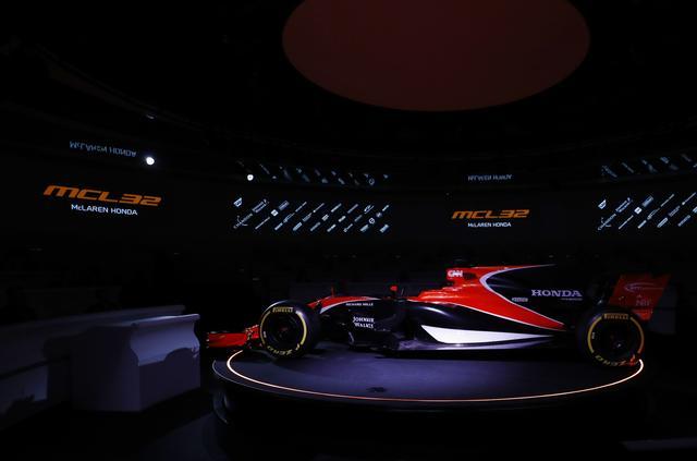 画像: 【ニュース】マクラーレン-ホンダ F1の新型マシン「MCL32」を公開