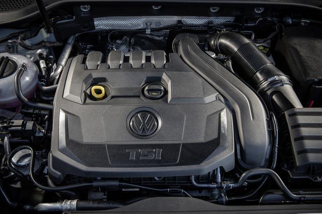 画像: VWが提唱するライトサイジングコンセプトに基づいて開発された新開発1.5TSIエンジン。