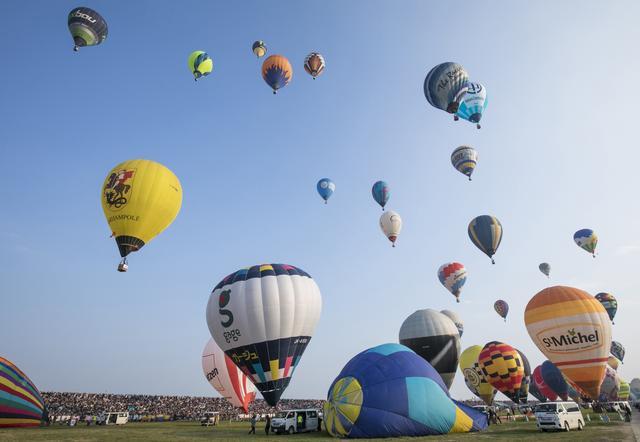 画像: 雄大な熱気球に感動すること間違いなし! 今年もホンダが特別協賛「2017熱気球ホンダグランプリ」 2017年2月24日