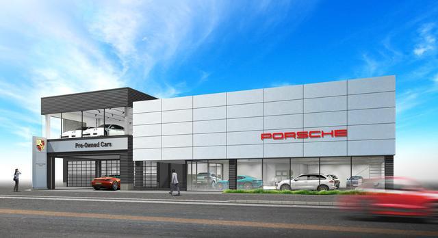 画像: 新車展示スペースに加え、中古車ショールームを増設した