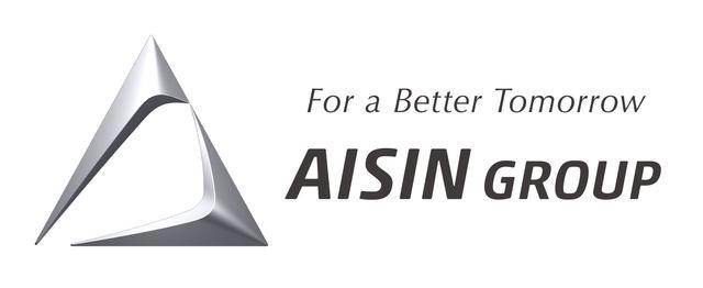 画像: 2015年の創立50周年に導入された、アイシングループのマーク。次の50年に向けて互いに一体感を持って羽ばたく翼を、AISIN GROUPのAの形で表現している。