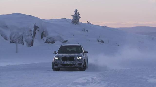 画像: BMW X3 Winter Test youtu.be
