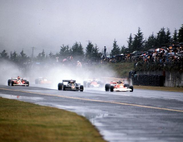 画像: 1976年F1世界選手権 イン ジャパン スタートシーン